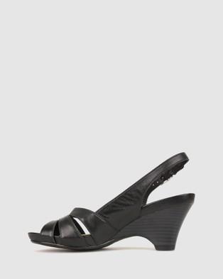 Airflex Abound Slingback Heel - Sandals (Black)