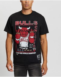 Mitchell & Ness - Chicago Bulls Vintage Champ Rings Tee