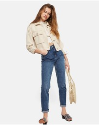 TOPSHOP - MOTO Mom Jeans