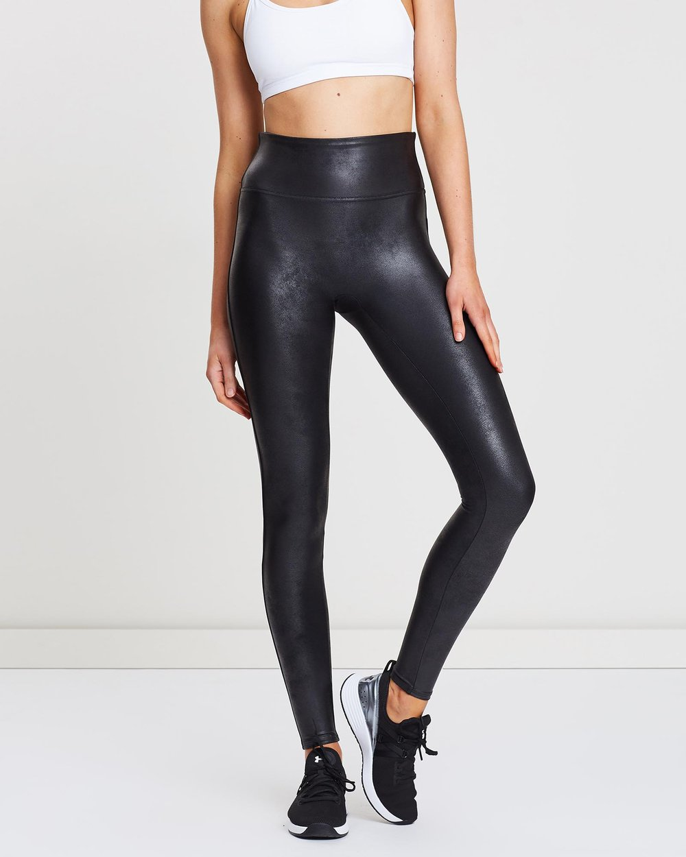 1b85ca992450b Faux Leather Leggings by Spanx Online | THE ICONIC | Australia