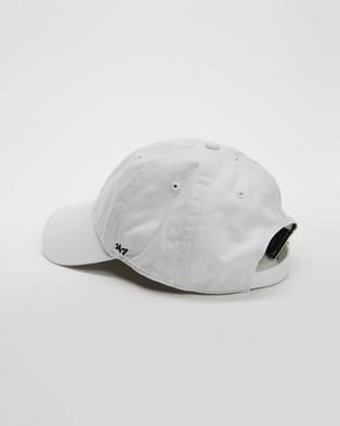 47 - Base Runner '47 Clean Up Headwear (White New York Yankees)