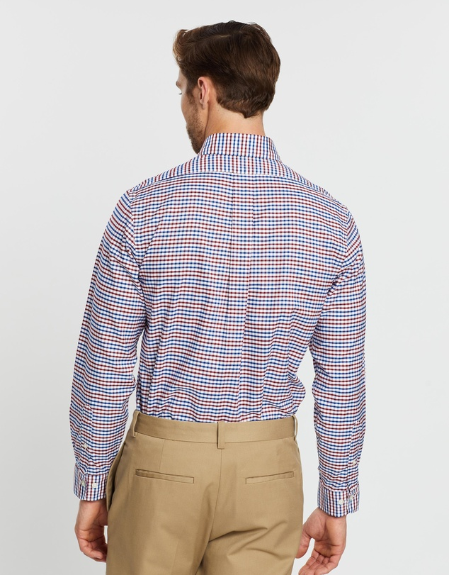 BROOKS BROTHERS - Non-Iron Oxford Yarn-Dyed Regent Shirt