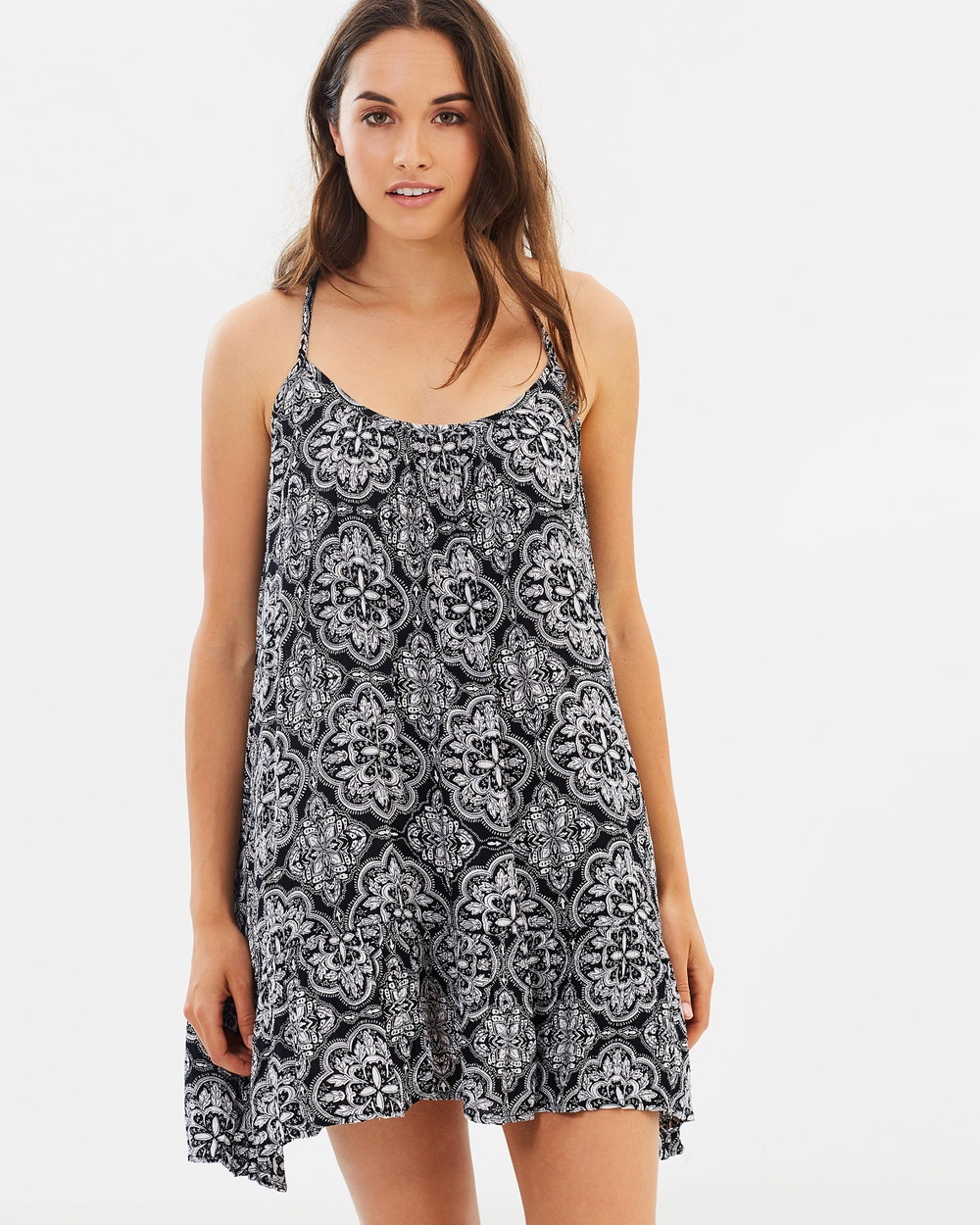 Volcom Simple Things Dress Dresses Vintage Black Simple Things Dress