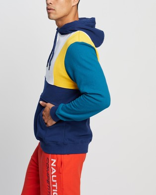 NAUTICA Colourblock Oh Hoody - Hoodies (Bright White)