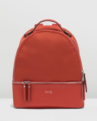 Lipault Paris Plume Avenue Nano Backpack - Backpacks (Orange)