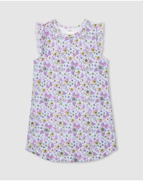 Milky - Floral Nightie - Kids
