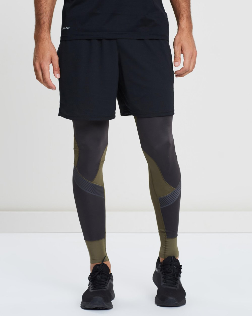 Skins DNAmic Mens Long Tights Black Free AUS Delivery!