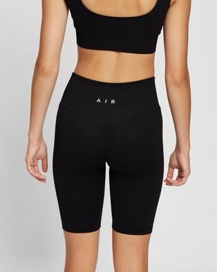 AIR Savanna Shorts - High-Waisted (Black Ink)