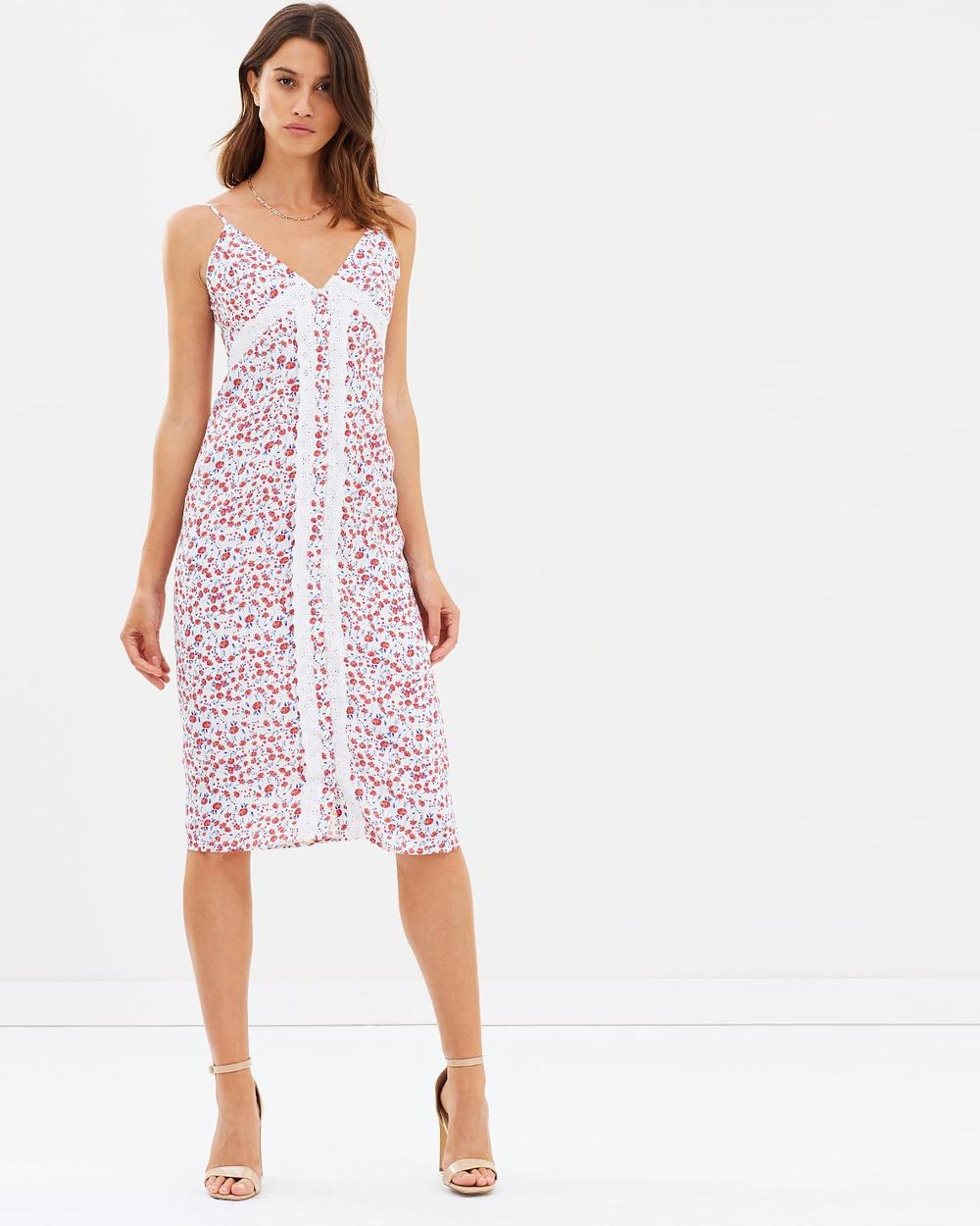 Hansen & Gretel Elayna Dress Dresses Ivory Floral Elayna Dress