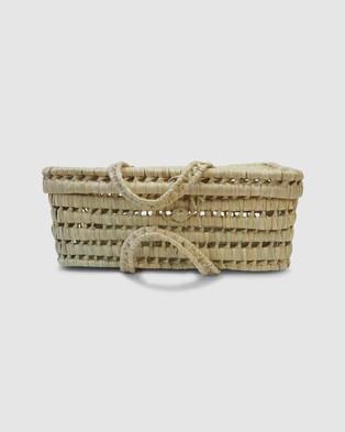 Kikadu Palm Leaves Suitcase - Home (Palm)