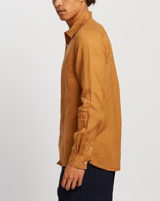 Assembly Label Casual Long Sleeve Shirt shirts Russet