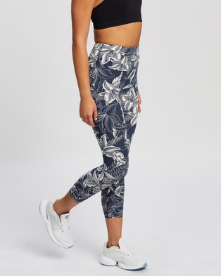 Running Bare Ab Waisted Fight Club 7 8 Tights - 7/8 Tights (Jodie)