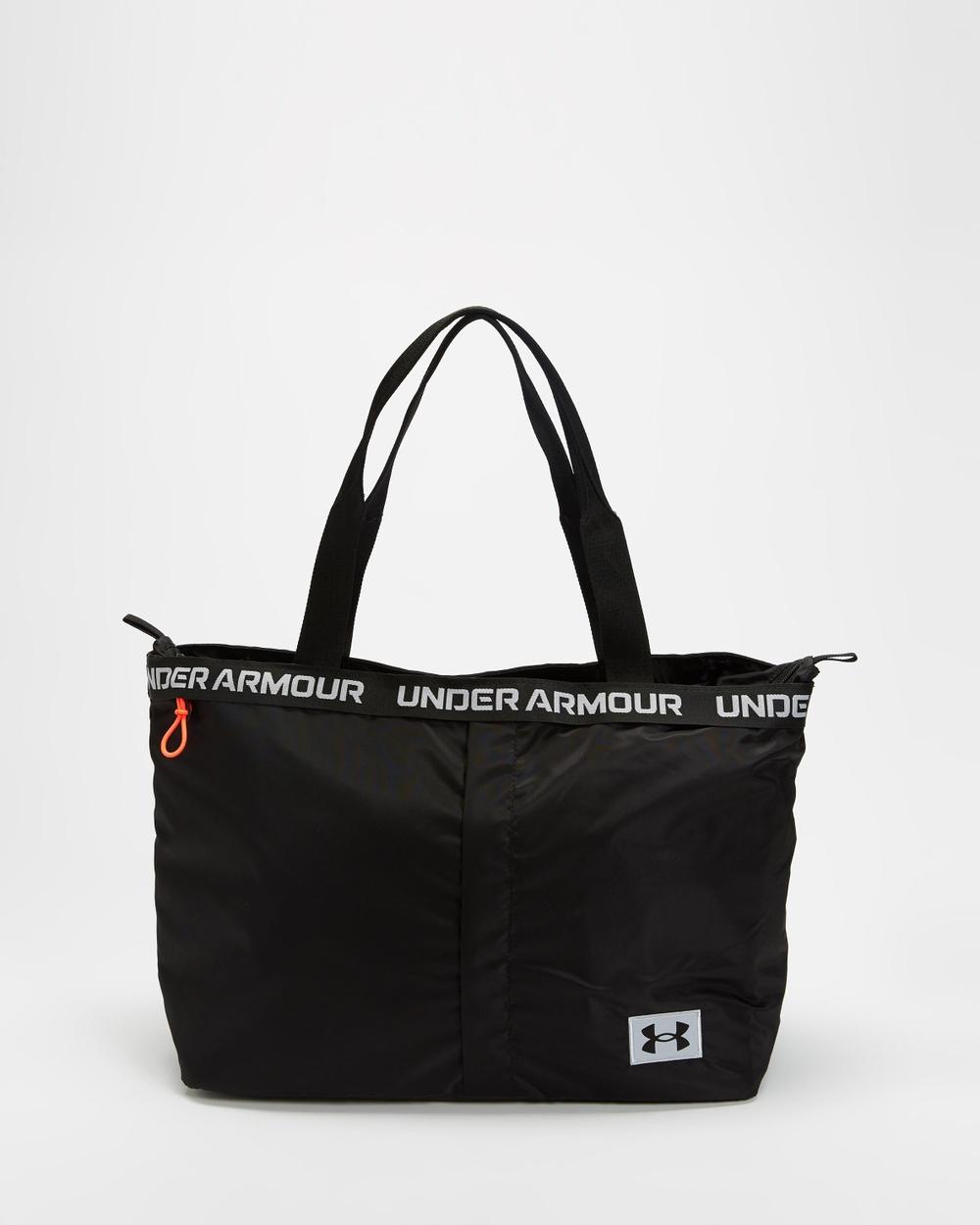 Under Armour Essentials Tote Bags Black, Mod Grey & Black