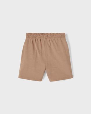 Lil' Atelier - Sage Shorts - Shorts (Brown) Sage Shorts