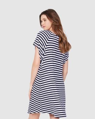 Soon Maternity Elly Dress - Dresses (Navy)