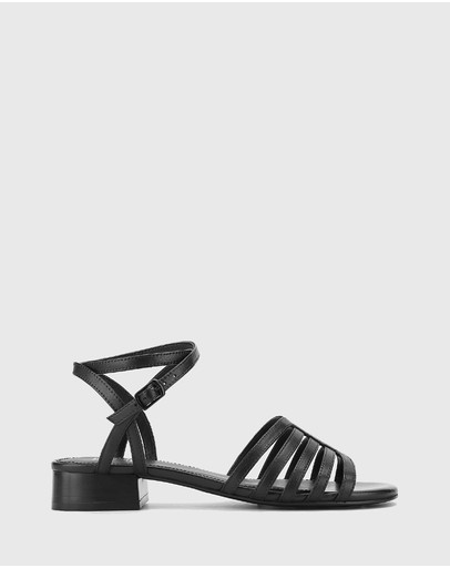 Wittner - Bastille Leather Open Toe Flat Sandals