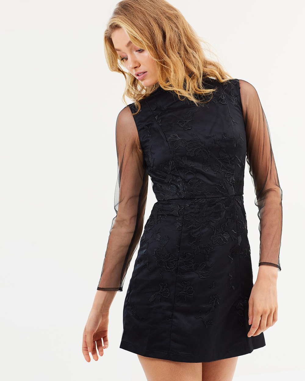 Chi Chi London Eyva Dress Dresses Black Eyva Dress