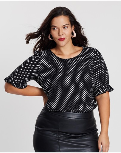7a6b00995504d Plus Size Tops