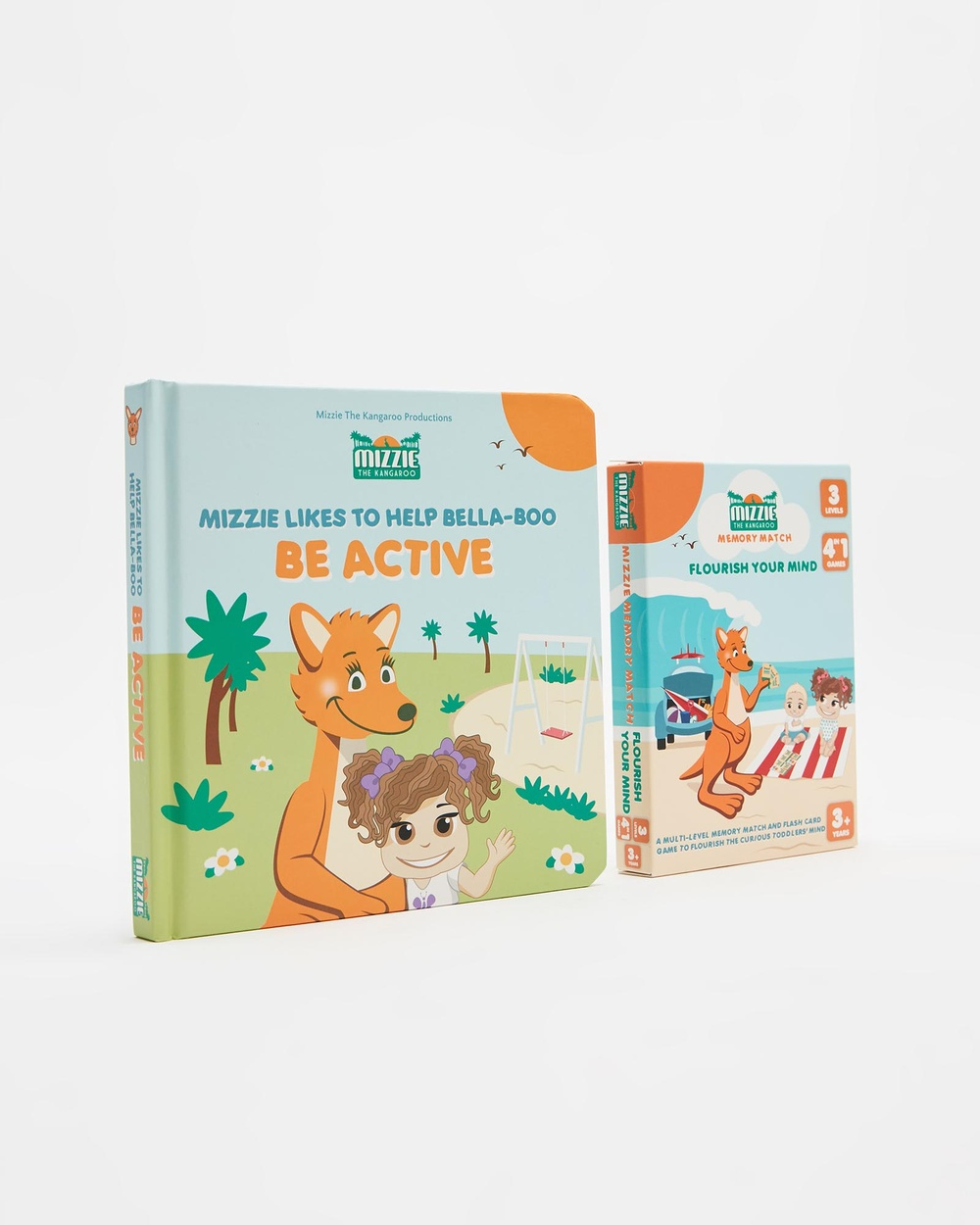 Mizzie The Kangaroo 'Look & Learn' Toddler Gift Set Be Active All toys Multi All toys Australia