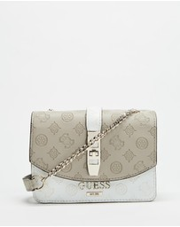 Guess - Peony Classic Mini Cross-Body Flap Bag