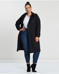 Atmos&Here Curvy - Lucy Trench Coat