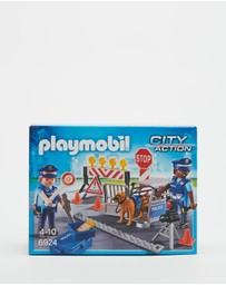 Playmobil - Police Roadblock - Kids