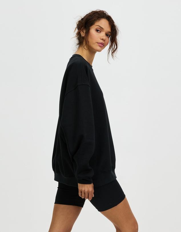 Women Mini Embroidered Sweatshirt