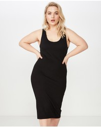 Cotton On - Curve Ponti Bodycon Dress