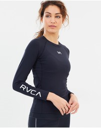 RVCA Sport - VA Compression Long Sleeve Top