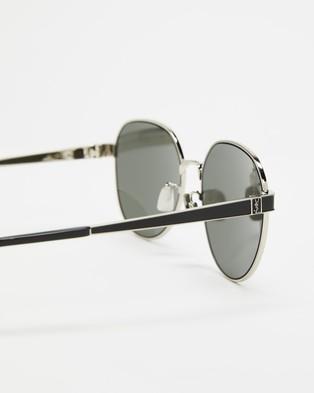 Saint Laurent SLM66001 - Sunglasses (Silver)
