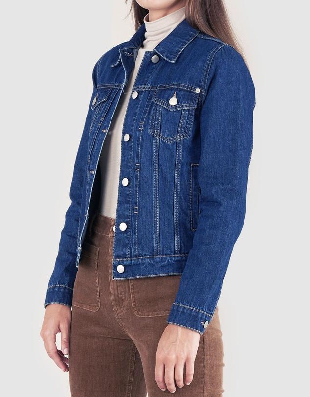 Women Vintage Denim Jacket