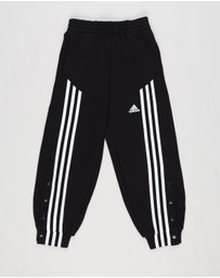 adidas Performance - 3-Stripes Snap Track Pants - Kids-Teens