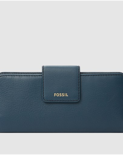 Fossil - Madison Navy Blue Clutch