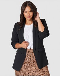 Something 4 Olivia - Charlotte Edge To Edge Blazer