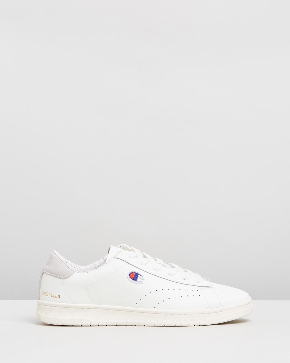 Champion - Court Club Plus Men s - Sneakers (White) Court Club Plus - Men s 7c4f974c7506