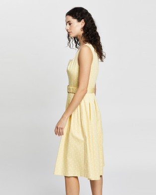 Australia Review Keepsake Dress - Printed Dresses (Lemon & White)