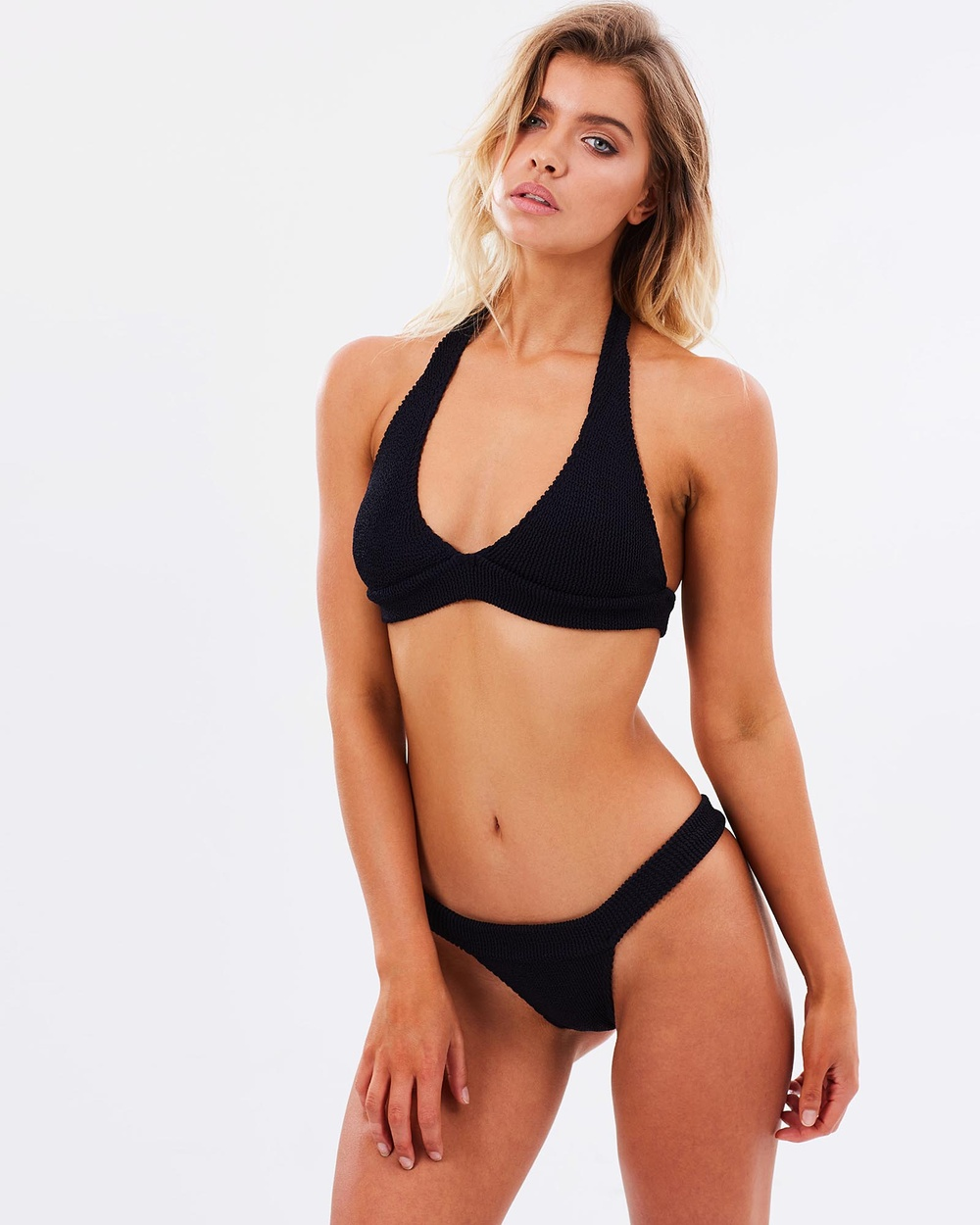 BOUND by Bond-Eye Australia BOUND The Mini Bikini Bikini Set Black BOUND The Mini Bikini