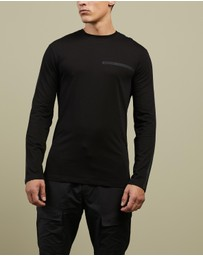 Armani Exchange - Crewneck Long Sleeve T-Shirt
