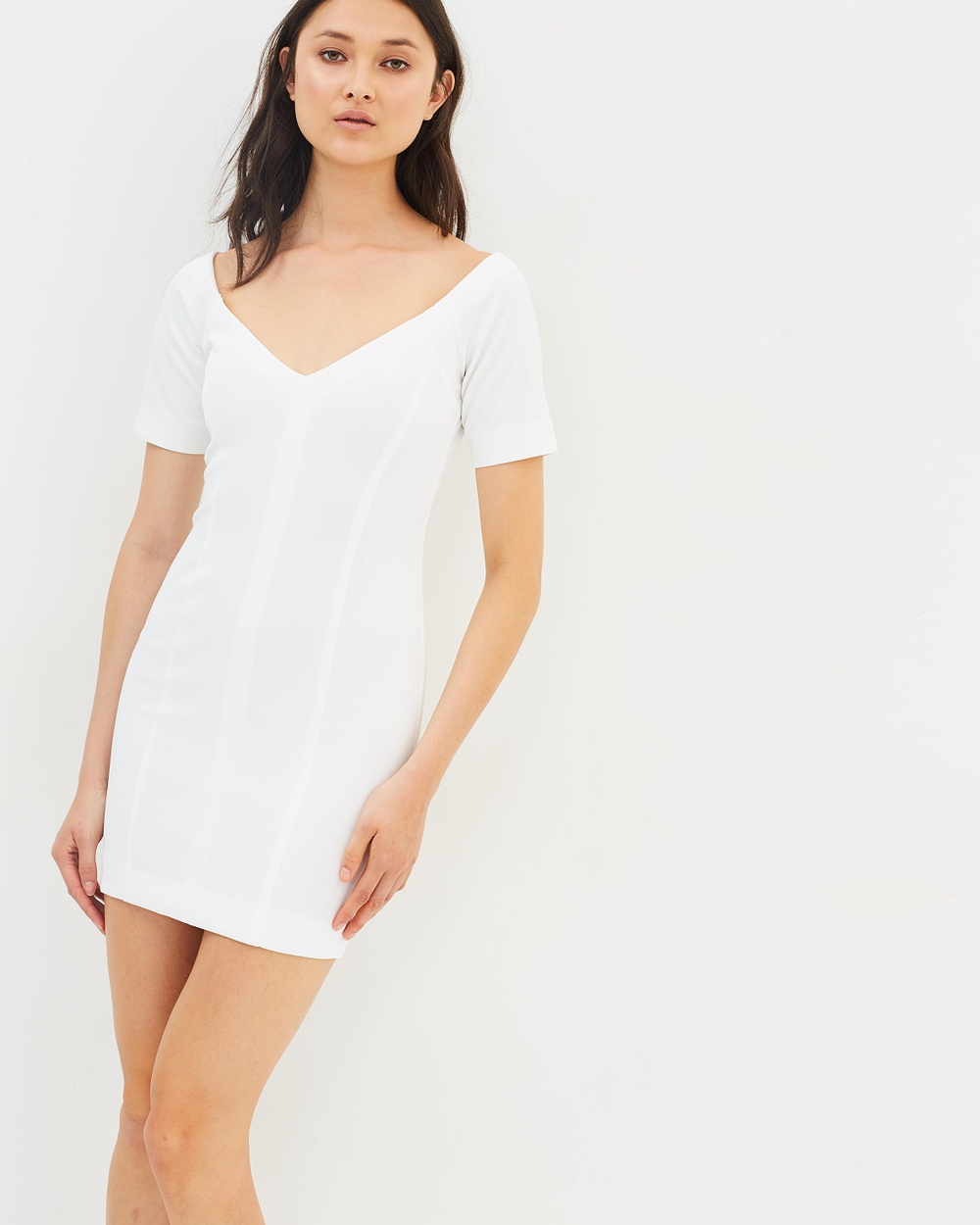 Maurie & Eve Theo Dress Dresses White Theo Dress