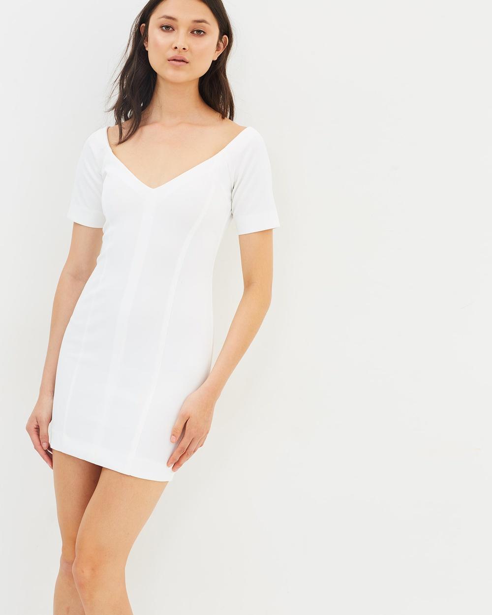 Maurie & Eve Theo Dress Dresses White Theo Dress
