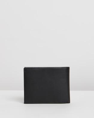 Tommy Hilfiger Eton Credit Card Flap and Coin Pocket - Wallets (Black)
