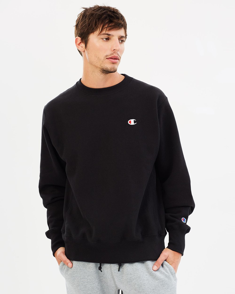 b698410d5a Reverse Weave Crew Sweater by Champion Life Online