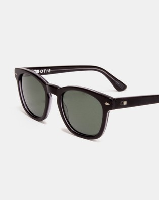 Otis Summer of 67 Polarised - Sunglasses (Satin Black Clear Polarised)
