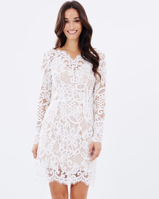 Homebodii – Anya Lace Dress White