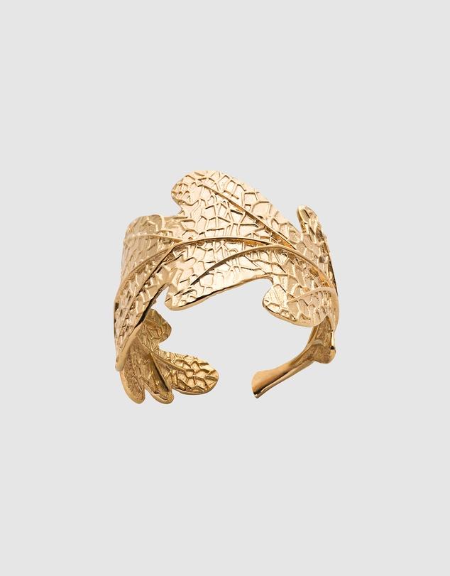 Women Oak Leaf Ring