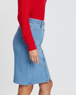 Sportscraft Maya Denim Skirt - Denim skirts (blue)