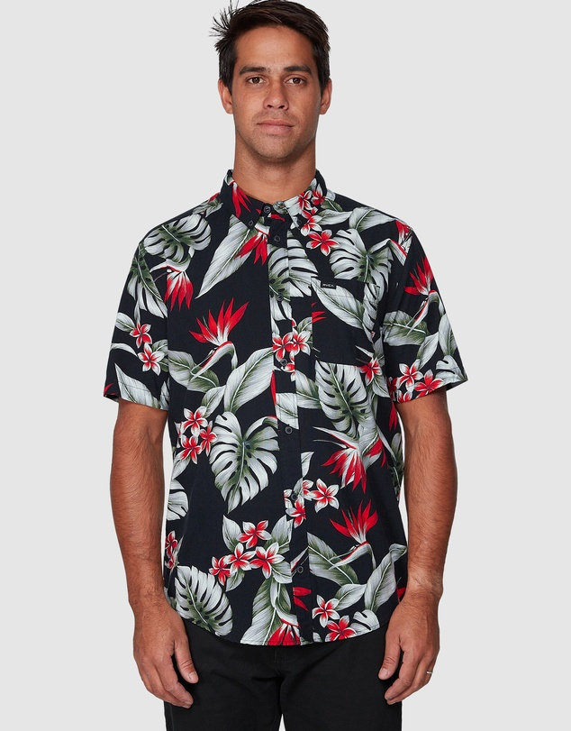 RVCA - Montara Short Sleeve Shirt