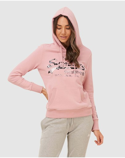 Superdry - VL Photo Rose Entry Hood