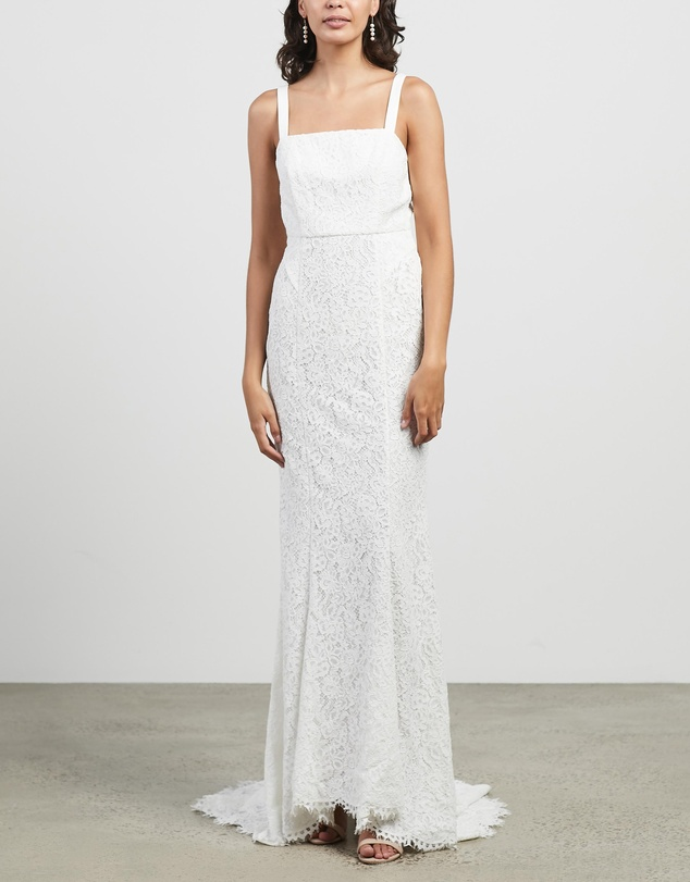 Women Mia Lace Wedding Dress