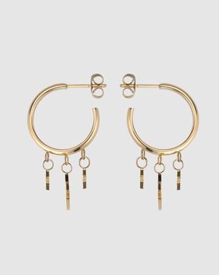 Rosefield Multi Star Jewellery Gold